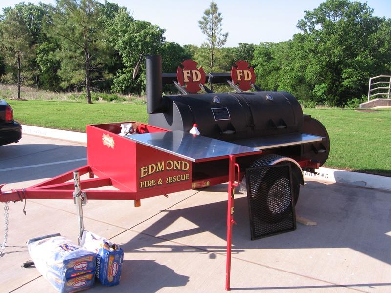 Edmond Fire Department Smoker