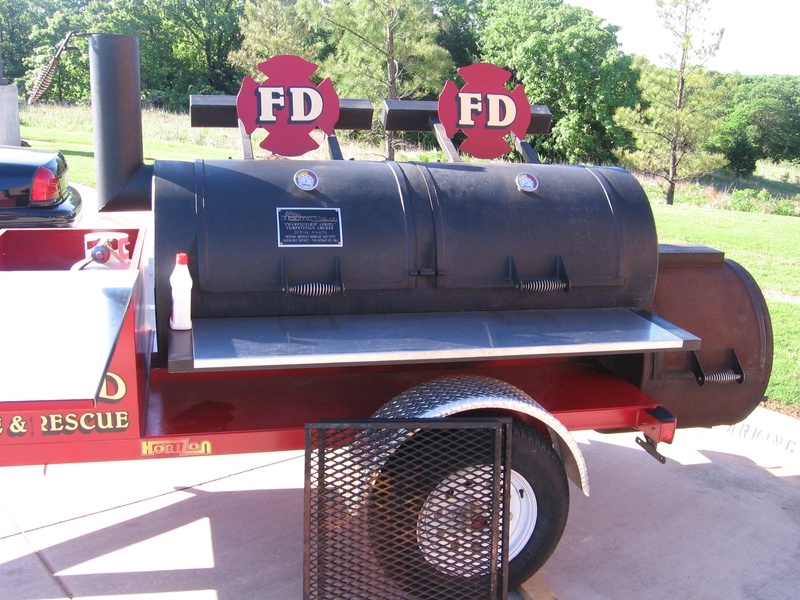 Edmond Fire Department Smoker