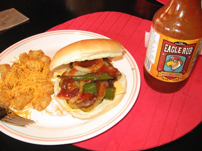 Eagle Rub BBQ Burger